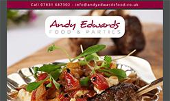 Andy Edwards Food & Parties, Diss, Norfolk