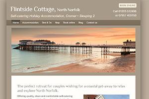 Flintside Holiday Cottage, Cromer, Norfolk