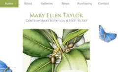 Mary Ellen Taylor, Contemporary Botanical & Nature Art