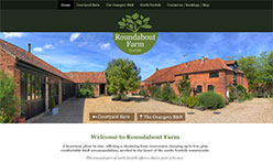 Roundabout Farm, Norfolk - A welcoming place offering Courtyard Barn and the Orangery B&B holiday accommodation, nestled in the north Norfolk countryside