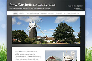 Stow Windmill Holiday Accommodation, by Mundesley, Norfolk