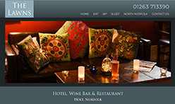 The Lawns Hotel, Wine Bar and Restaurant, Holt, Norfolk