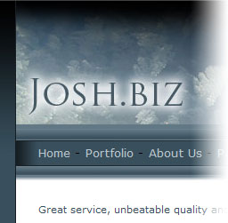 The orginal Josh.biz website
