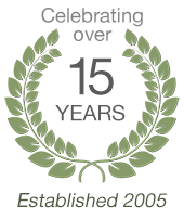Celebrating over 15 years in business